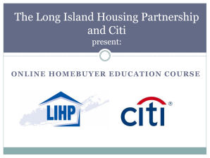 Click here to register for Online Homebuyer Education Course